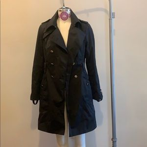 White House Black Market Trench Coat WORN ONCE